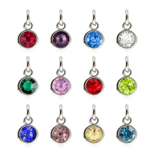 2018 dangle Jewelry birthstone charms pendant In stock hanging charms