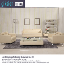 (ZS852#) Modern PVC leather sofa set living room furniture