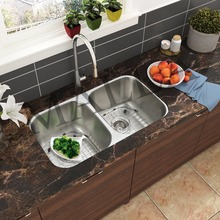 Simple Style One-Piece Stainless Steel Deep Bowl Commercial SUS 304 Sink