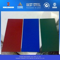 zinc aluminium coated steel roofing sheets/ stone color coated roofing sheets