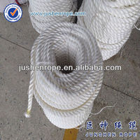 Nylon rope fluorescent anchor rope