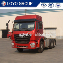SINOTRUK HOHAN automatic transmission tractor truck, tractor truck and trailer dimensions, used truck tractor units