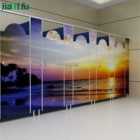 JIALIFU 10 years warranty durable compact laminate toilet partition
