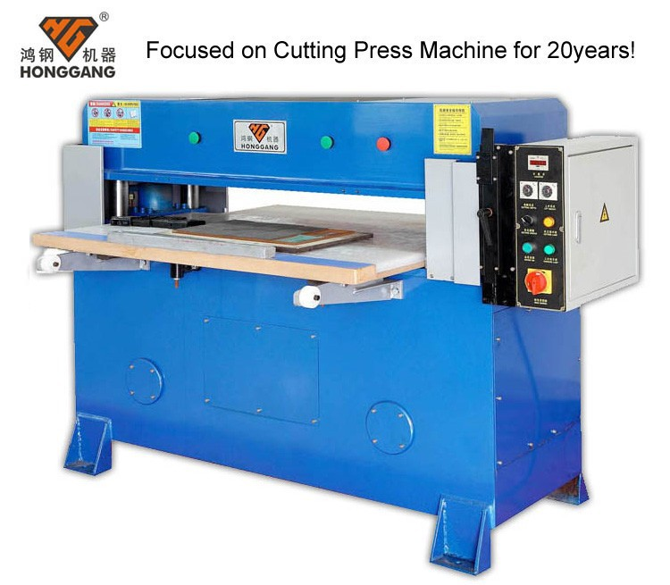 Small manual 30 ton hydraulic press used for workshop