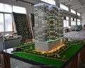lighting architectural models / Sclae building model / scale miniature square model making