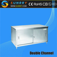 Modern Kitchen Cabinets/Stainless Steel Kitchen Cabinet Handle/Mini Bar Cabinet (SY-CB815D SUNRRY)