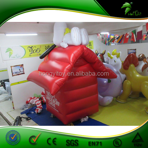 Large Inflatable Advertising Balloons / Large Size Advertising Dog House Air Balloons