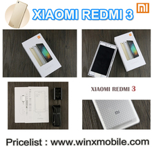2016 Good Price Redmi 3 Xiomi Hot Product China mobile Phone Dual SIM 2gb / 3gb ram 16gb / 32gb rom