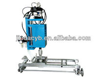 Small Ultrasonic Plastic Welder Used on Zipper Closure Bag Making Machine