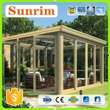 Top Quality Simlple Design Aluminum Alloy Tempered Glass glass garden room