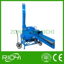 Small wheat straw pulverizer / maize straw ensilage machine / corn stalk silage hay grass grinder crusher chipper shredder