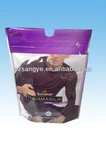 clear plastic zipper garment bag/disposable garment bags
