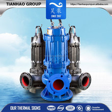 Heavy traffic sewage pump with single phase submersible motor