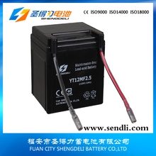 long life service motorcycle/motor battery mfmotorcycle/motor power start battery 12v2.5ah Motorcycle