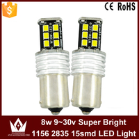 Lightpoint High Quality 1156 Bau15s 2835 SMD LED Rear Back Stop Bulb ba15s led 12V 24V