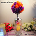 2018 New design Unique design crystal centerpiece for wedding event&party;Small crystal centerpiece weddings decoration(MCP-014)