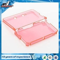 Multi Color Transparent Case For N3DS