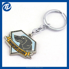 Metal Gear Solid Game DiamondDogs Keychain Dog Logo New Arrival Fashion Keyring