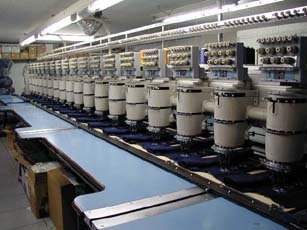 MULTI HEAD EMBROIDERY MACHINES