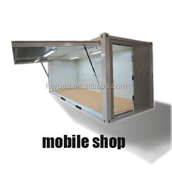 prefabricated mobile shops