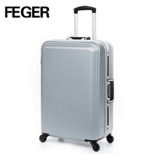 built-in 4 wheels luggage case brand air express suitcase