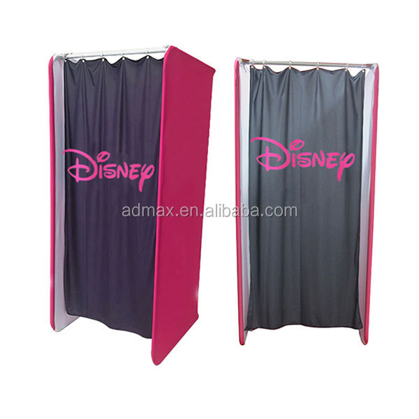 Portable Changing Room Fabric Tube Display Buy Portable