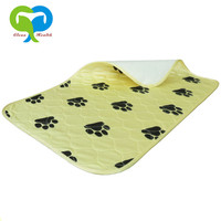 dog puppy pee pet training pads resuable waterproof urine absorbing mats