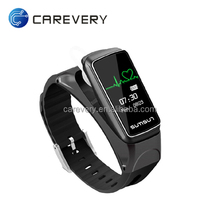 Smart Bracelet B7 Bluetooth Earset Style Heart Rate Monitor Smart Watch 2017