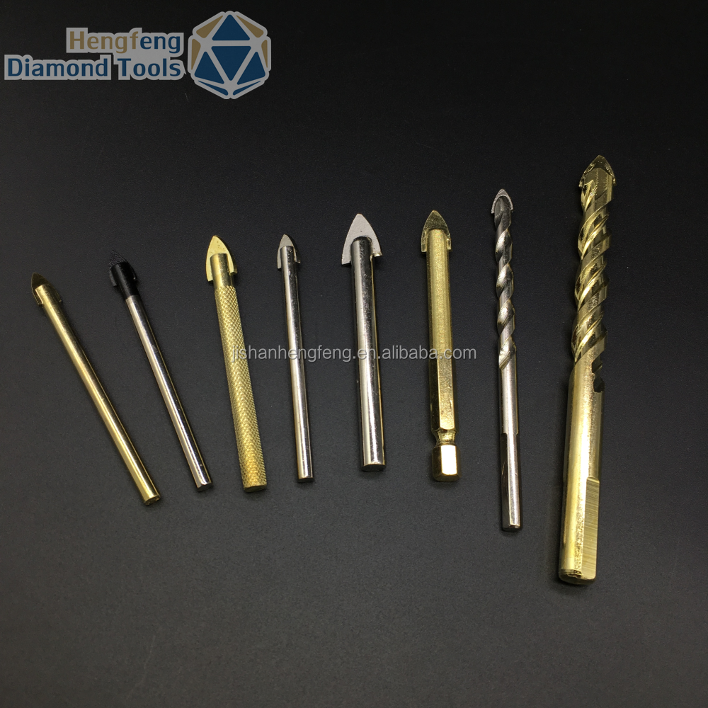 Tungsten carbide using in glass drilling glass drill bit