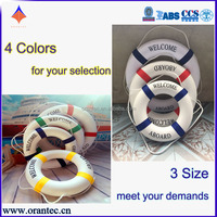 4 Colors and 3 Size Cotton-Cloth Handmade Decorative Life Buoy