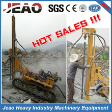 Made In China 3.2 Tons Pneumatic & Hydraulic Mining Rock Crawler Drill Rigs JBP100B