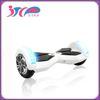 Cheap Two wheels Self balancing Electric Scooter with LED light and Bluetooth Speaker
