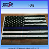 100% polyester 3*5ft thin blue line American flag