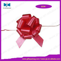 Flower Pull Bows,red car ribbon bow