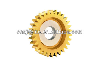 INVOLUTE DISC TYPE STRIGHT TEETH GEAR SHAPING CUTTER M1~16