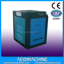 ISO CE 380V 50Hz Ac 10HP Best Price Air Compressor Machine
