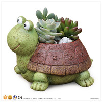 Resin Statue Garden Decorative Turtles For