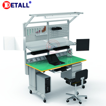 Detall Customized ESD Adjustable Lab Work table dental lab bench