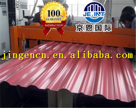 22 gauge curve corrugated gi/gl/ color coated sheet price