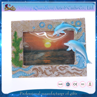 wedding souvenir new design resin fancy picture frame