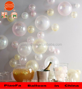hot inflatable wedding stage backdrop pearl balloon