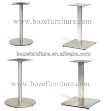 Round Furniture Leg/ Square Metal Garden Table Base/ Legs