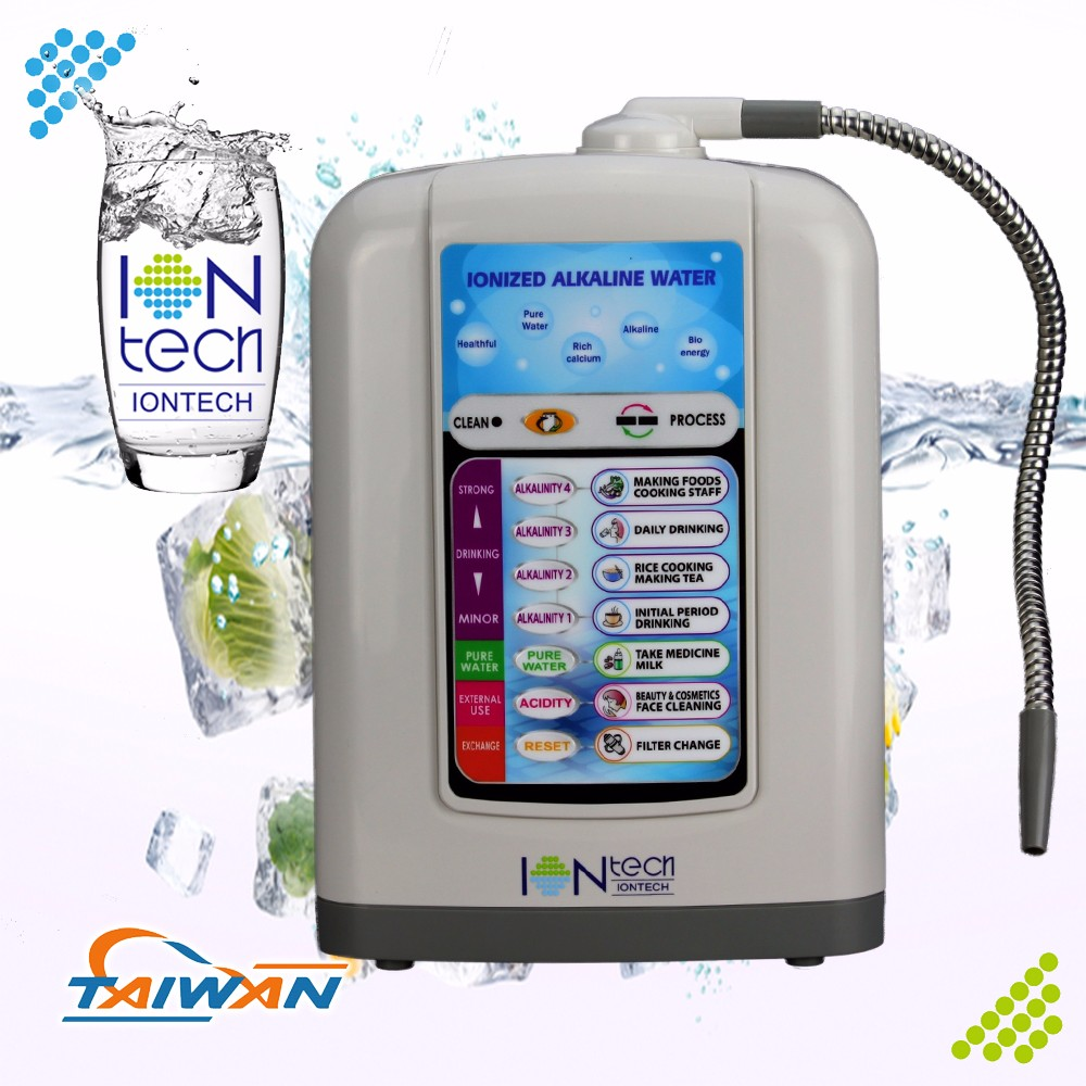 IT-530 Iontech 5 electrolysis plates purifier with alkaline water system