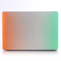 Colorful Rainbow Gradual Color New Hard Shell Case Cover For Macbook