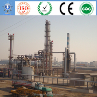 chemical industry distillation plant recycling oil lubricated