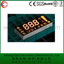 Reach Approval temperature sensor LED display