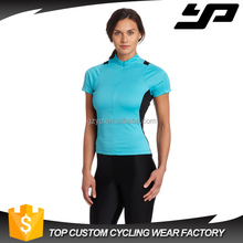 High quality brethable cycling jersey custom mountain cycling clothes for women