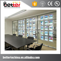 Real Estate Light Panel A4 Quality Control LED Window Sign