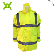 Hi vis hot sale chinese supplier yellow safety reflective jacket 3m reflective safety jacket