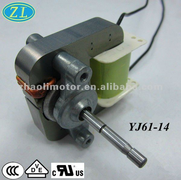 120V 50/60Hz High quality oven motor: Shaded pole AC motor for Oil free Fryer CE/UL/VDE certified